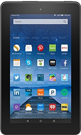 "Fire, 7"" Display, Wi-Fi, 8 GB - Includes"