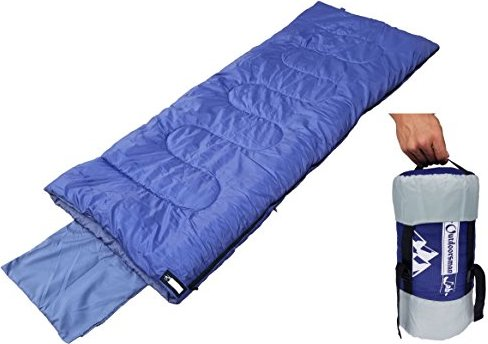 OutdoorsmanLab Lightweight Sleeping Bag (32F) For Camping, Backpacking,